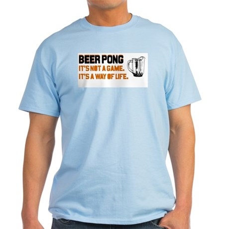 Beer Pong T-Shirt (Light Colors)