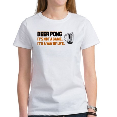 Beer Pong Women's T-Shirt