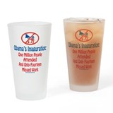 Obama's Inaguration Drinking Glass