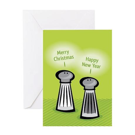 Seasonings Greetings Greeting Card