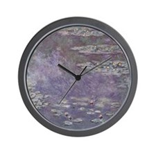 Monet Waterlilies Wall Clock