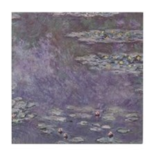 Monet Waterlilies Tile Coaster