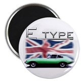 "Cute E type jaguar 2.25"" Magnet (100 pack)"