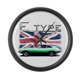 Jaguar e type Giant Clocks