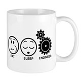 Eat Sleep Engineer Small Mug