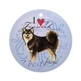 Finnish Lapphund Ornament (Round)
