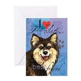 Finnish Lapphund Greeting Card