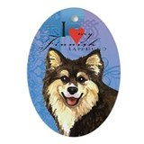 Finnish Lapphund Ornament (Oval)