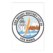 USS Mount Whitney LCC 20 Postcards (Package of 8)