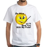 Beat You With a Flute Tee Shirt