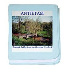 Burnside Bridge at Antietam baby blanket