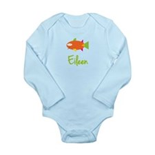Eileen is a Big Fish Long Sleeve Infant Bodysuit