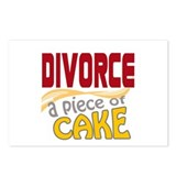 Divorce - Piece of Cake Postcards (Package of 8)