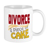 Divorce - Piece of Cake Small Mug