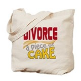 Divorce - Piece of Cake Tote Bag