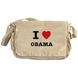 I Love Obama Messenger Bag