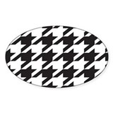 Alabama Houndstooth Decal