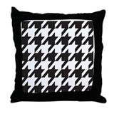 Alabama Houndstooth Throw Pillow
