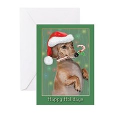 Dachshund (d) Greeting Cards (Pk of 20)
