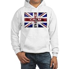 Keep Calm Union Jack Hoodie