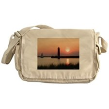 Muskegon Lighthouse 1 Messenger Bag