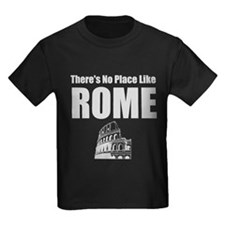 No Place Like Rome (silver) T