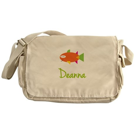 Deanna is a Big Fish Messenger Bag