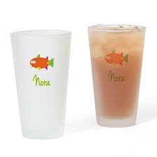 Nora is a Big Fish Drinking Glass