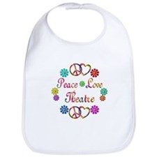 Peace Love Theatre Bib
