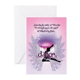 Dance is the Only Art... Greeting Cards (Pk of 10)