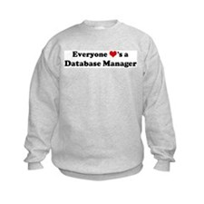 Loves a Database Manager Sweatshirt