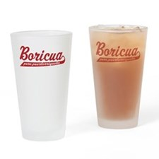 Puro Puertorriqueno Drinking Glass