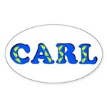 Carl Sticker (Oval)