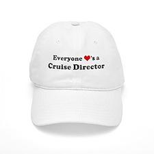Loves a Cruise Director Baseball Cap
