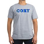 Cory Men's Fitted T-Shirt (dark)