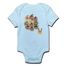 Hedgehog Holiday Infant Bodysuit