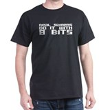 Real Gamers Do It With 8 Bits T-Shirt