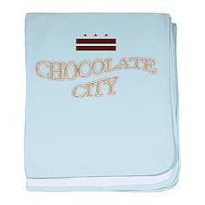 Chocolate City 1.0 baby blanket