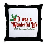 It Was a Wonderful Life Throw Pillow