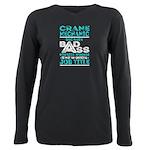 Ready Long Sleeve Dark T-Shirt