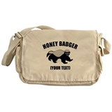 Honey Badger Custom Messenger Bag