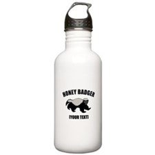 Honey Badger Custom Water Bottle
