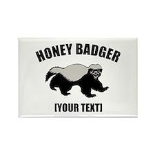 Honey Badger Custom Rectangle Magnet