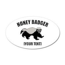 Honey Badger Custom 22x14 Oval Wall Peel