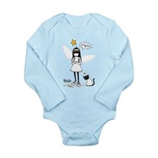 Emily Angel Long Sleeve Infant Bodysuit