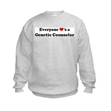 Loves a Genetic Counselor Sweatshirt