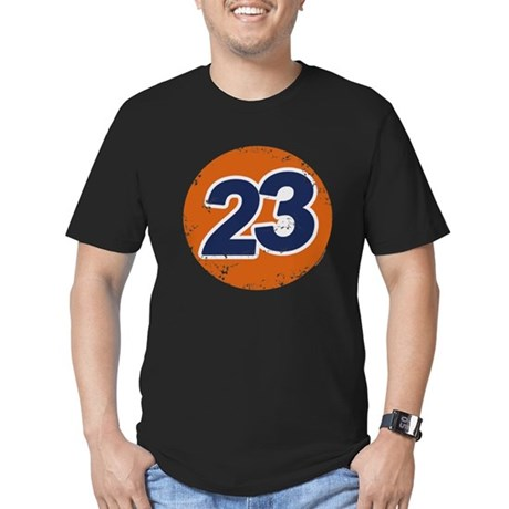 23 Logo Mens Fitted Dark T-Shirt