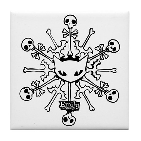 Emily Snowflake Tile Coaster