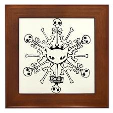 Emily Snowflake Framed Tile