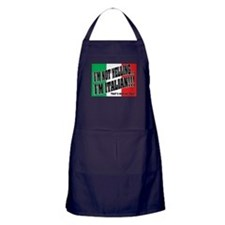 I'M NOT YELLING (Generic) Apron (dark)